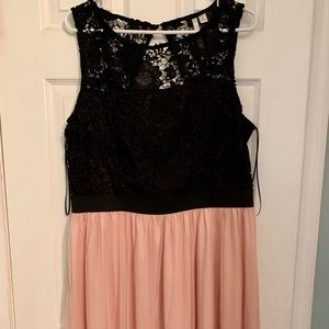 Lauren Conrad lace and tulle dress